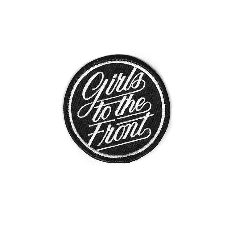 Girls to the Front Patch
