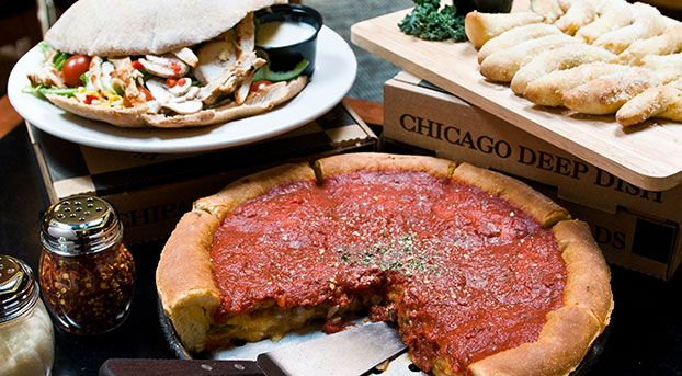 Pizza House is a nice, sit-down restaurant with pizza and Italian food (plus: alcoholic milkshakes). We are receiving a coupon from them which will be distributed to Institute participants.