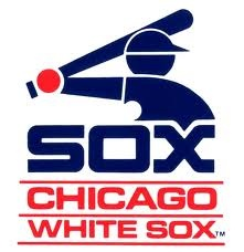 White Sox logo, 1980s . Even I grew up in the northern suburbs of Chicago (mostly Cubs fans), my dad was a diehard White Sox fan and took my brother and I to games every year at Comiskey Park. Today my brother and I are still Sox fans :)