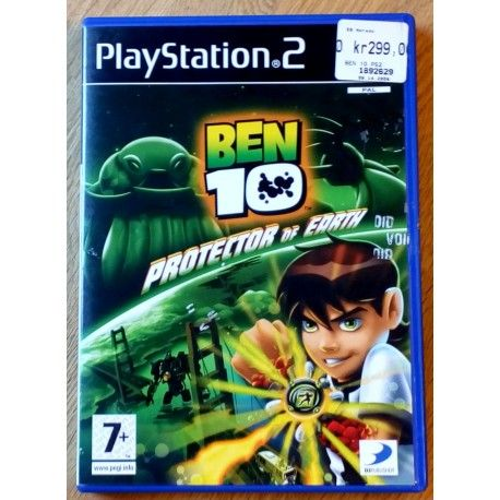 Ben 10 - Protector of Earth (D3 Publisher) Playstation 2
