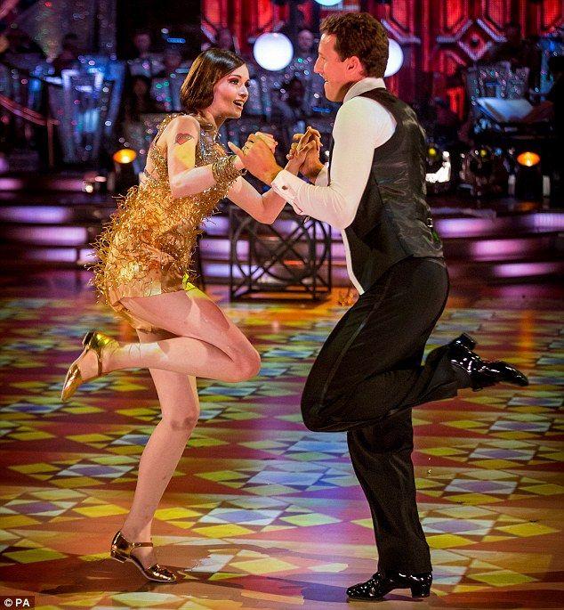 Sophie and Brendan dance Charleston - my fav of the night!!!