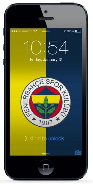 Free iPhone Wallpaper Download #turkey #soccer #fenerbahce