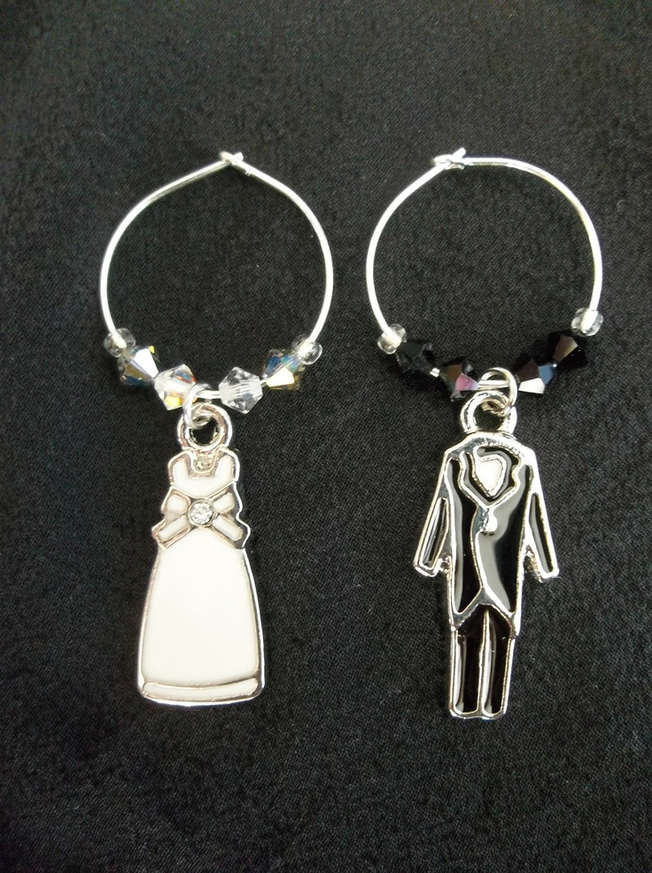 95 best wine glass charms images on Pinterest | Wine glass charms ...