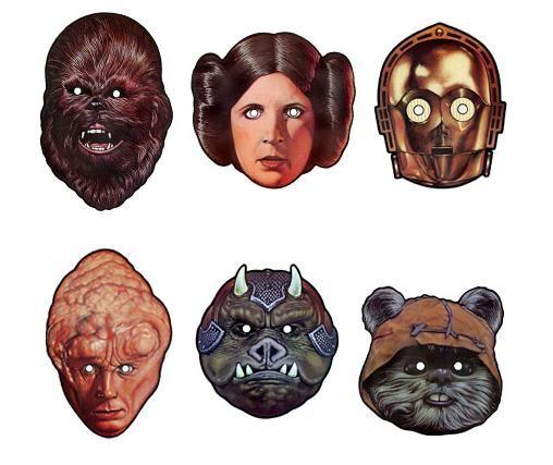 Free printable celebrity halloween masks