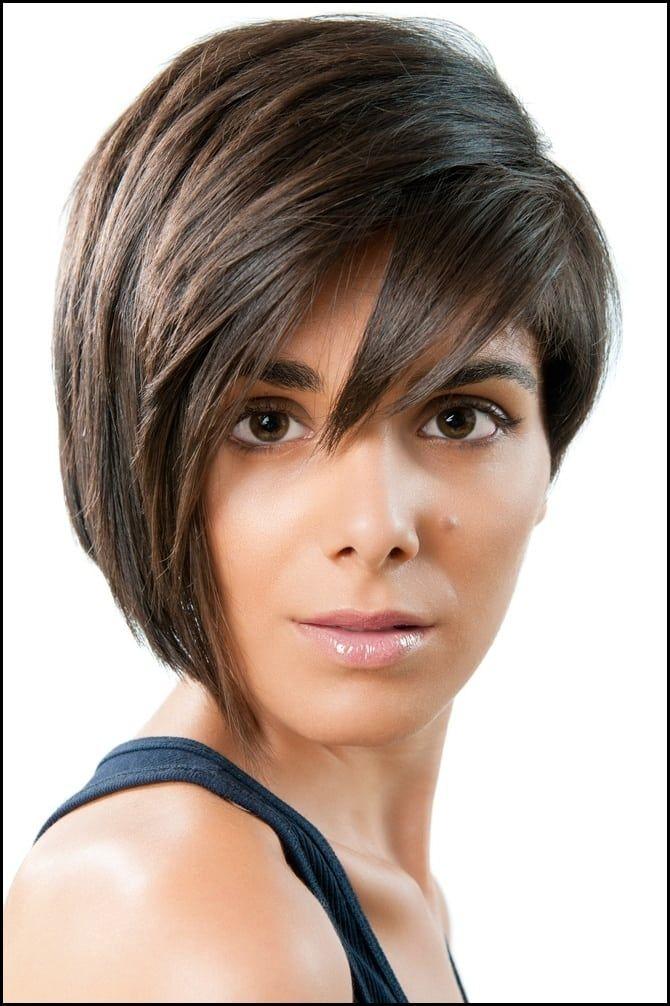 Welche Frisuren Schmales Gesicht Optisch Verbreitern Meine Frisuren Bob Frisur Haarschnitt Kurze Frisuren Fur Dickes Haar