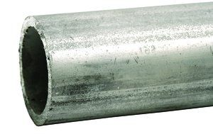 "3"" x 21 ft Schedule 40 Galvanized Steel Plain End Pipe 