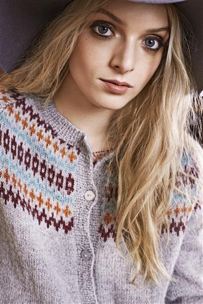 """Tema 39: Modell 12 """"Elgseter"""" kofte #norsk #klassiker #strikk #knit"""