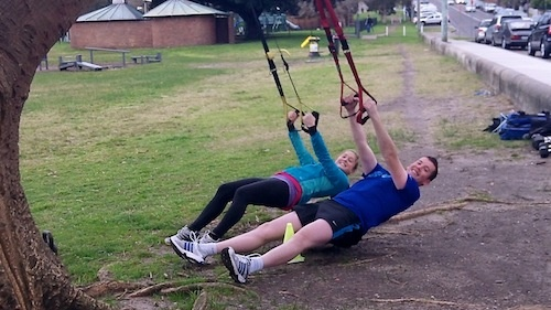 Tough Mudder Week 2: Good turn out on Saturday at the Tough Mudder class – especially as most people were backing up and doing the City To Surf on Sunday.    This time we headed over the road to Queens Park with a killer strength workout and made the most out of the hills for the bodyweight and cardio segments of the workout.  Here's it is… http://bootcampsydney.com.au/blog/2012/08/13/tough-mudder-week-queens-park/