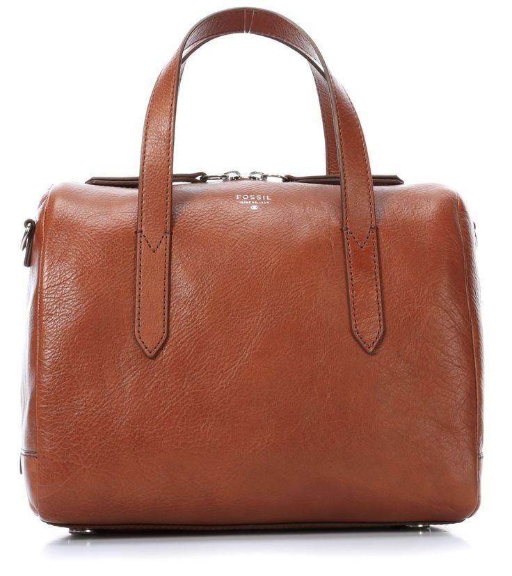 Sydney Handtasche Leder braun 26 cm