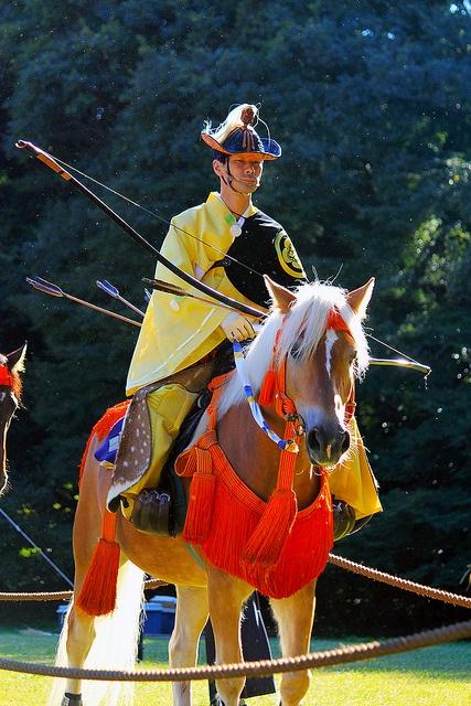 かっこいい馬の画像集☆流鏑馬の馬♪