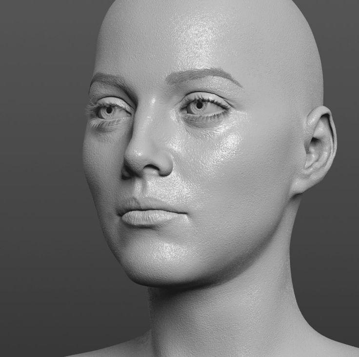 Скульптура лица картинки