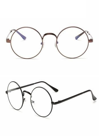 Round Clear Vintage Glasses