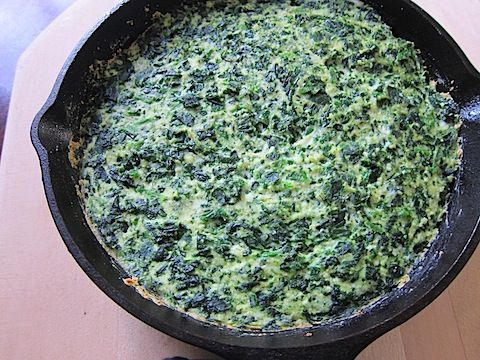 Spinach Ricotta Something - 3 ingredients. Bake. Dinner's done.: Milk Ricotta, Bags Frozen, Baking Yummy, Food Crafts, Ricotta Cheese, Bulk Baking, Crustless Quiches, Frozen Spinach, Frozen Dinner