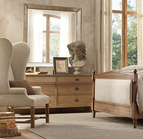 Directoire Dresser Mirror Master Bedroom Pinterest Products Master Bedrooms And Hardware
