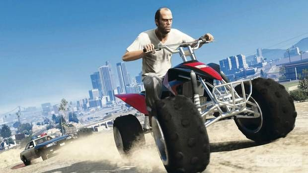 GTA 5 Article author: Simon Rice The game purposes a type of world in which the player can do whatever he wants, for example, drive luxurious cars, play sports, have lots of money, etc. The game teaches that if you act like a criminal you will get caught by the law, it teaches it because by doing bad things, in most of the cases you die. From this game you can learn english.  Design Specifications: Topic: 4 Strategy:7 Coordination:7 Teamwork: 7 Thinking: 4 Story:7