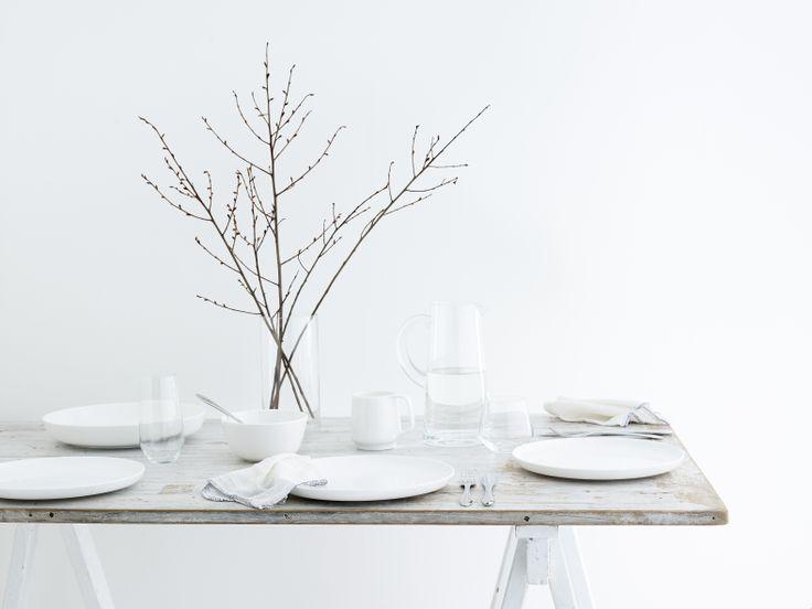 Noritake Tableware designed by Marc Newson. Photography by Brandee Meier