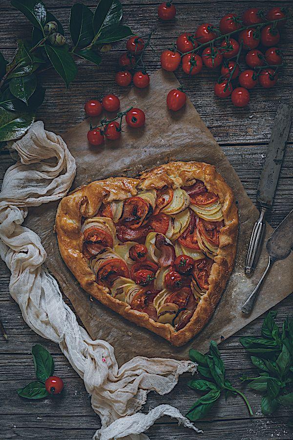 Galette De Tomates Y Patatas Con Bacon Tarta Salada Con Version