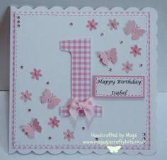first birthday cards for girls - Google Search