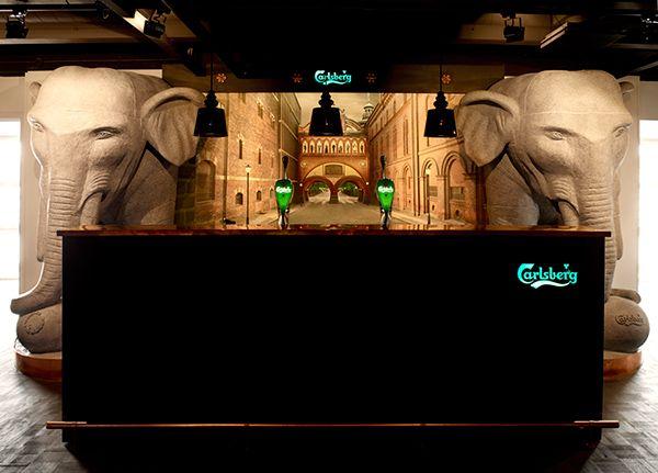 Carlsberg VIP Lounge, Danish national arena Parken on Behance
