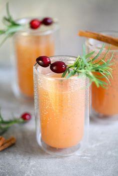 Rezept für heissen Zimt-Apfelpunsch (ohne Alkohol) – homemade cinnamon apple…