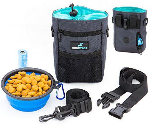 Dog Treat Training Pouch, Built-in Poop Bags Dispenser, A... https://www.amazon.com/dp/B06XGFNLNC/ref=cm_sw_r_pi_dp_x_6vahzbN61ZSMN