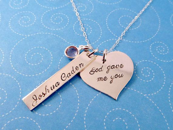 Hey, I found this really awesome Etsy listing at https://www.etsy.com/listing/156447728/adoption-necklace-god-gave-me-you