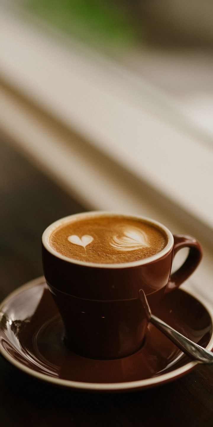 Background Coffee Hd : background, coffee, 720x1440, Wallpapers, Coffee, Cafe,, Presentation,, Roasting