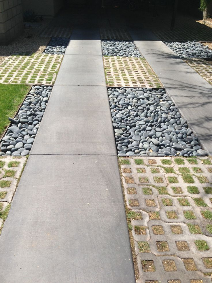 #permeable driveway textures #phoenix #curbappeal