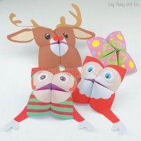 Christmas Cootie Catchers