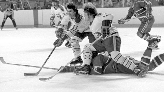 The French Connection: Rick Martin, Gilbert Perreault, and Rene Robert, Buffalo Sabres