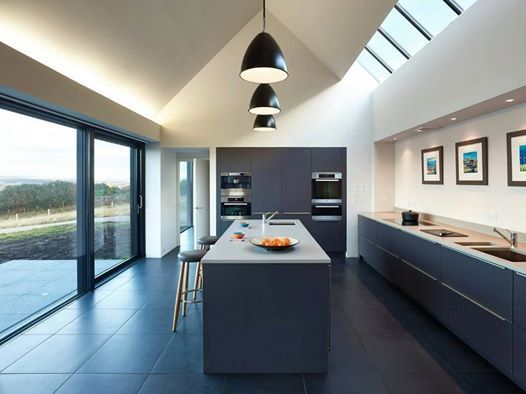 Beautiful Open Plan Poggenpohl Kitchen Fading Into The Surrounding Italian  Panorama. Part 47