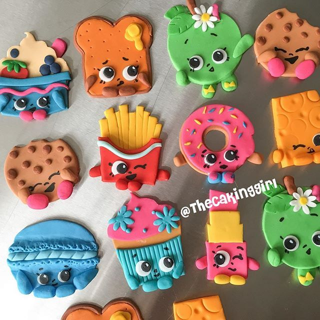 Shopkins cupcake toppers                                                       …