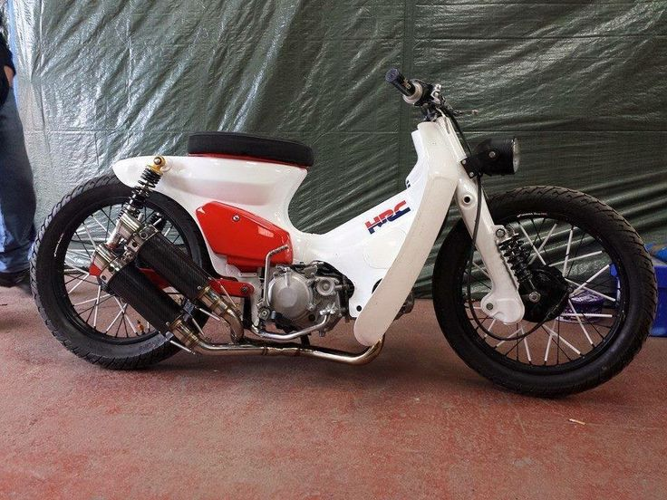 Honda Cub by James Chopshop Gibson