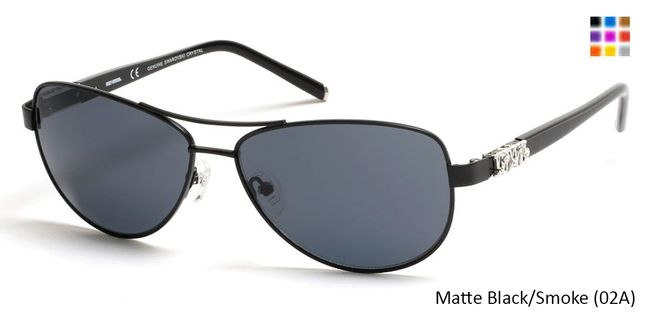 HARLEY-DAVIDSON HD0304X - Matte Black/Smoke (02A) sunglasses, for adults, frames for women prescription eyewear with high quality lenses,Prescription lenses with anti scratch coating.