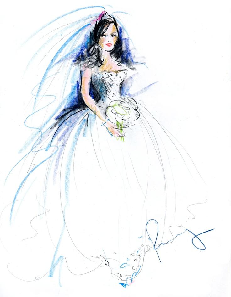 bride   rosemary fanti - Wedding and Event Illustrator