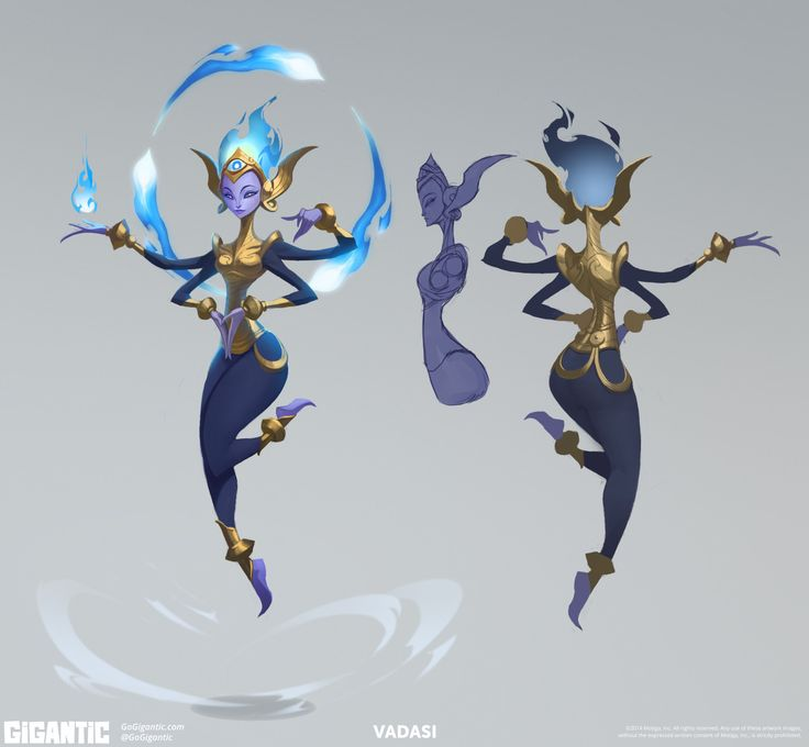 Community Canvas — Vadasi concept art from today's Clash Course...