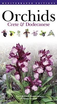 Orchids of greece and the dodecanese, book, mediterraneo editions
