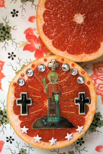 "gwengold: "" M.D.Ananas and Sf. Mucenita Filofteia Roz, Icoane Series - Alkmy """