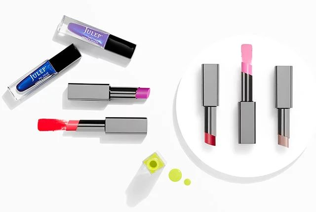 Julep's July Into the Sea Collection - The July Collection was inspired by the eternal allure of deep summer – lush, saturated nail colors that are far from your average, plus our latest lip essential: Lip Shade Sheer Lip Butter with SPF 30.