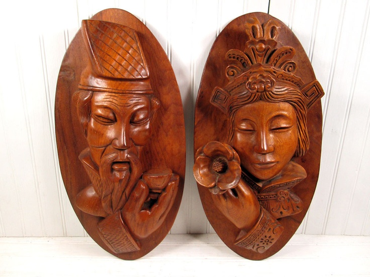 Asian Wooden Wall Art
