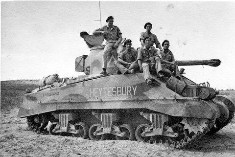 George E Jordan ( Sherman Tank ) Heytesbury