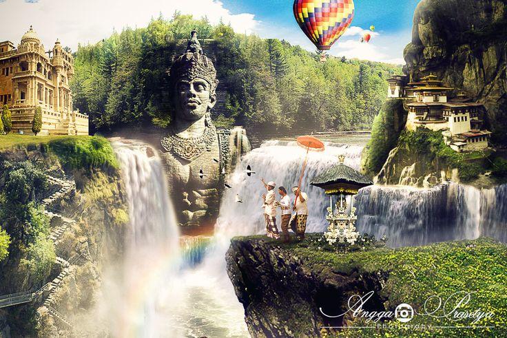 """Wisnu Waterfall"" #Beautyfull Bali"