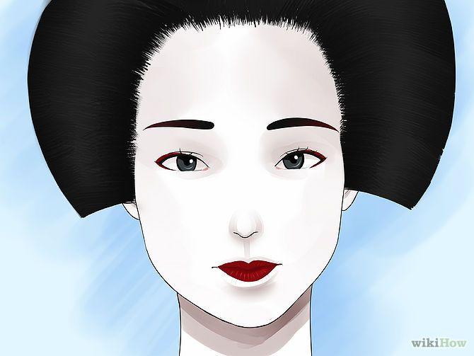 Geisha Make-Up & Hair