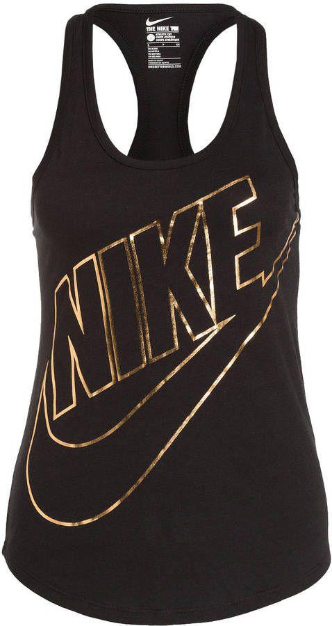Nike Tanktop METALLIC FUTURA grau