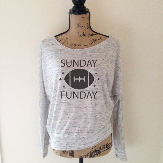 Sunday Funday Football Shirt - Football Tee - Sports Football Game Day Shirts…