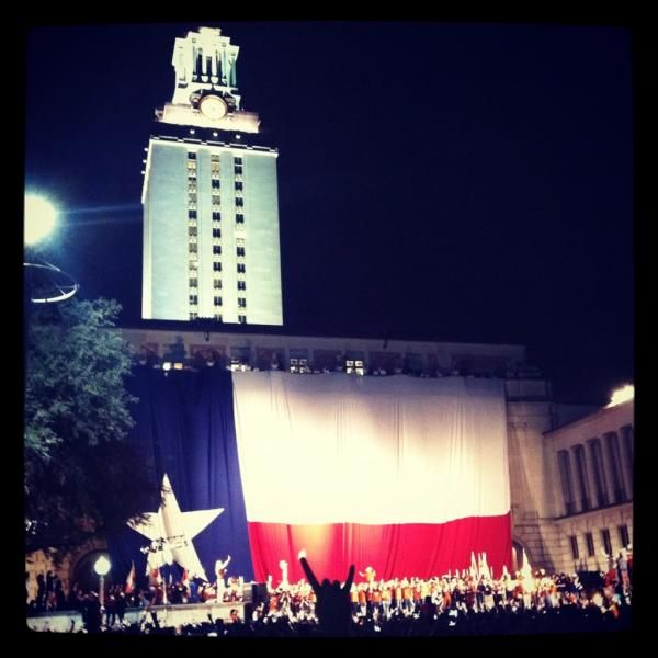 The last am hex rally held at the university of texas at austin november 2011