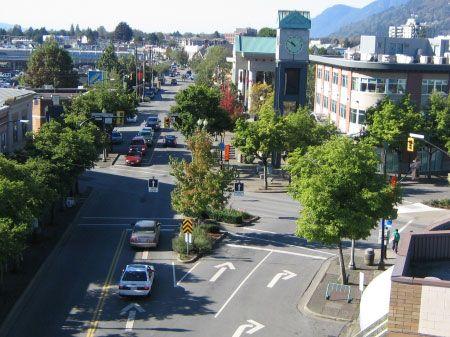 Five Corners, Chilliwack, BC