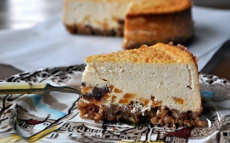 Karabuğday Tabanlı Cheesecake Tarifi
