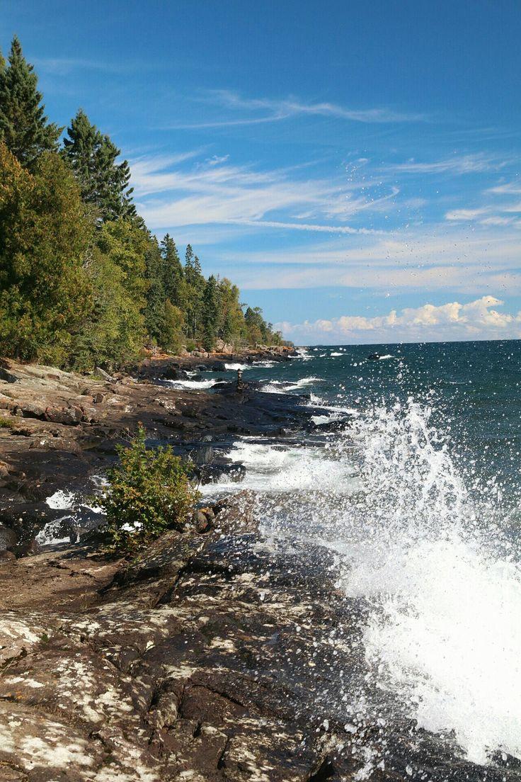 Lake Superior, Cascade River State Park, Minnesota State
