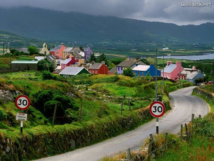 Ireland: One Day, Buckets Lists, Favorite Places, Dreams Vacations, Color, Places I D, The Village, Roads, County Corks Ireland